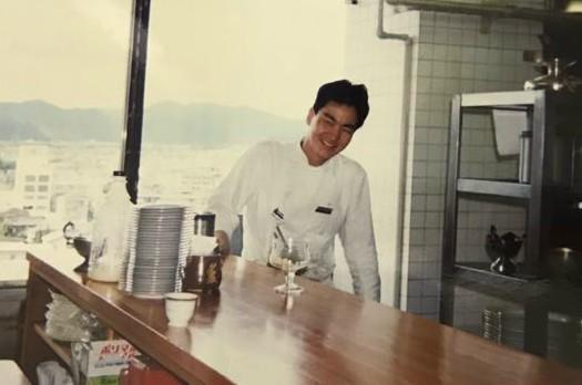 地元のホテルに勤務していた頃の戸田