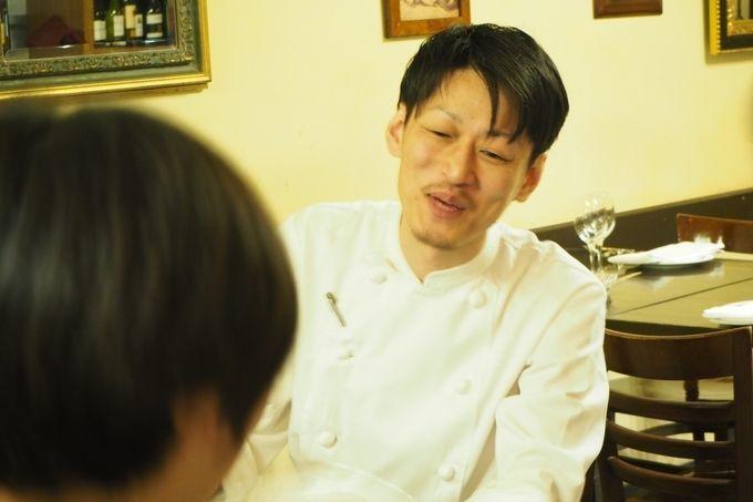 チェントアンニ料理長小幡さん