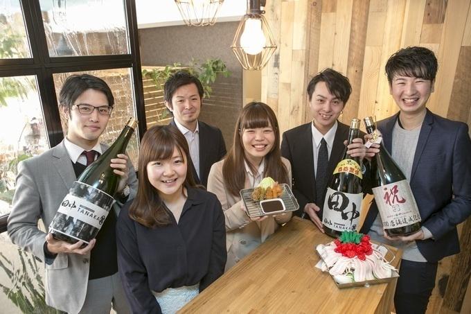 串カツ田中の新卒社員たち
