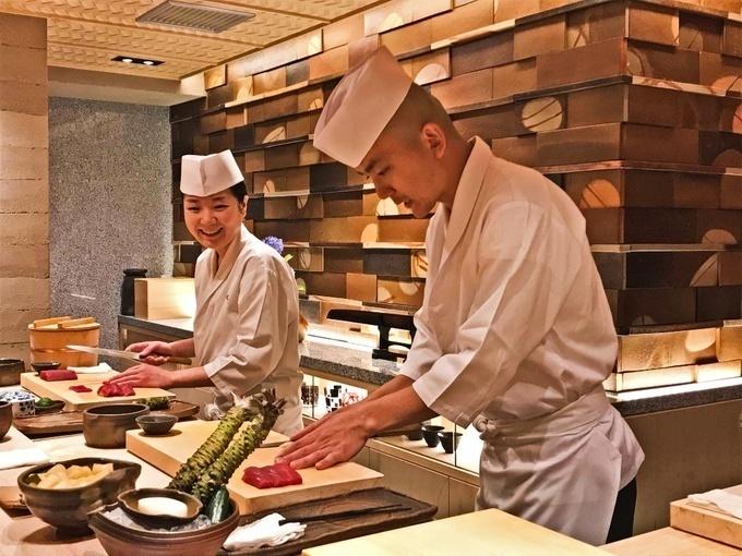 鮨_銀座おのでら寿司職人たち